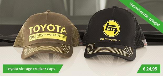 Toyota Vintage Caps