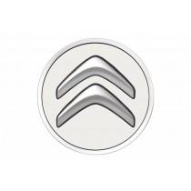 Set Originele Citroën naafdoppen Blanc Banquise