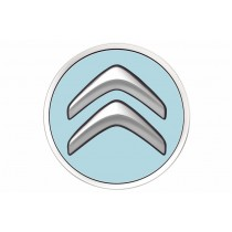 Set Originele Citroën naafdoppen Bleu Boticelli