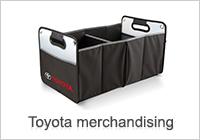 Toyota merchandising